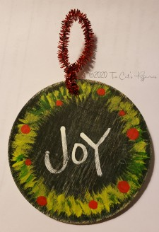 Joy Ornament #2