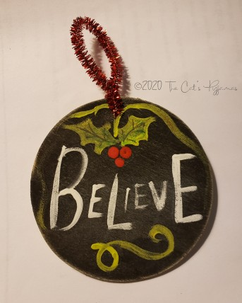 Believe Ornament #2