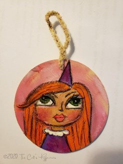 Miss Melanie ornament