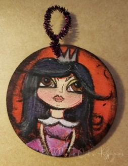 Elvira ornament