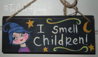 I smell children!