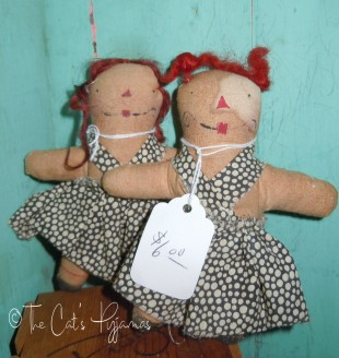 Little Raggedy dolls