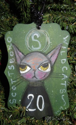Scottsboro Wildcats Ornament #20