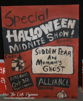 Old Spook Show painting