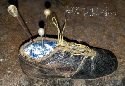 Old Shoe Pin Cushion