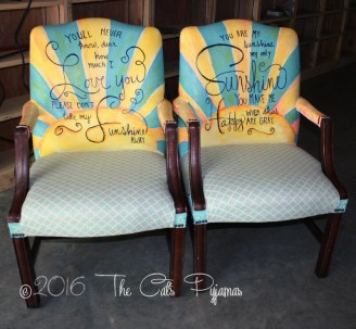 You are my Sunshine chairs