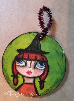 Wanda the Witch ornament