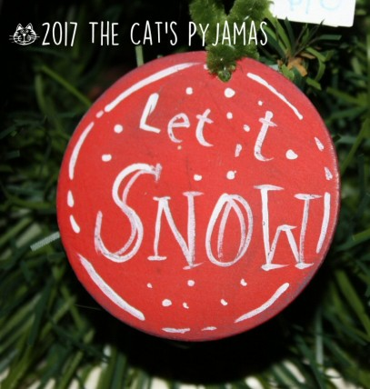 Let It Snow Ornament (round)