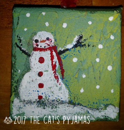 Snowman Ornament 030