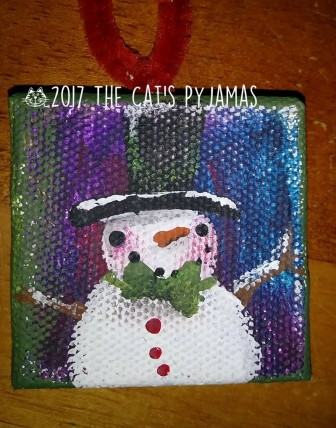 Snowman Ornament 027