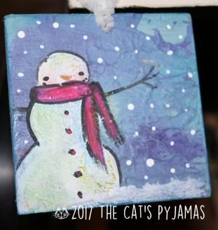 Snowman Ornament 038