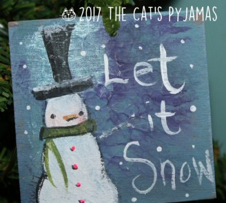 Let It Snow ornament 031