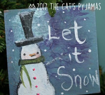 Let It Snow ornament 031
