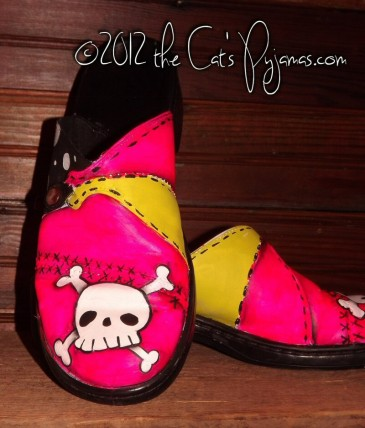 Skull & Crossbones shoes