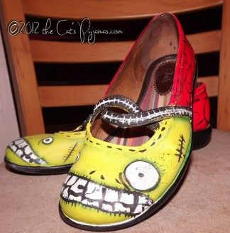 SOLD Zombie Mary Janes