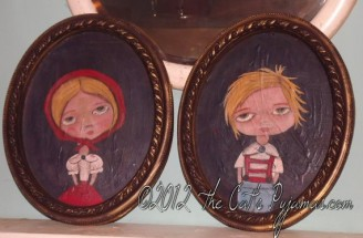 Hansel and Gretel portraits